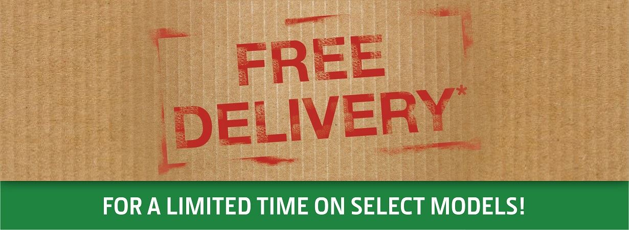 Free Delivery on Select Equipment Models for a Limited Time