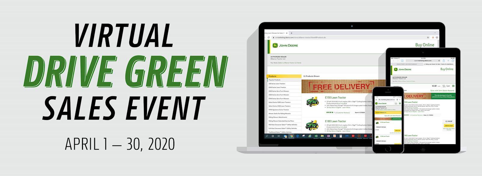 2020 Virtual Drive Green Event