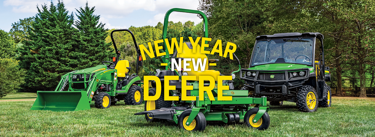 New Year, New Deere Sales Event