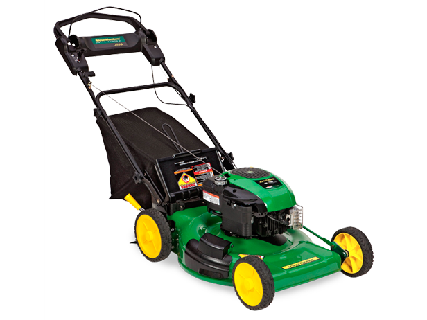 Walk-behind push mower