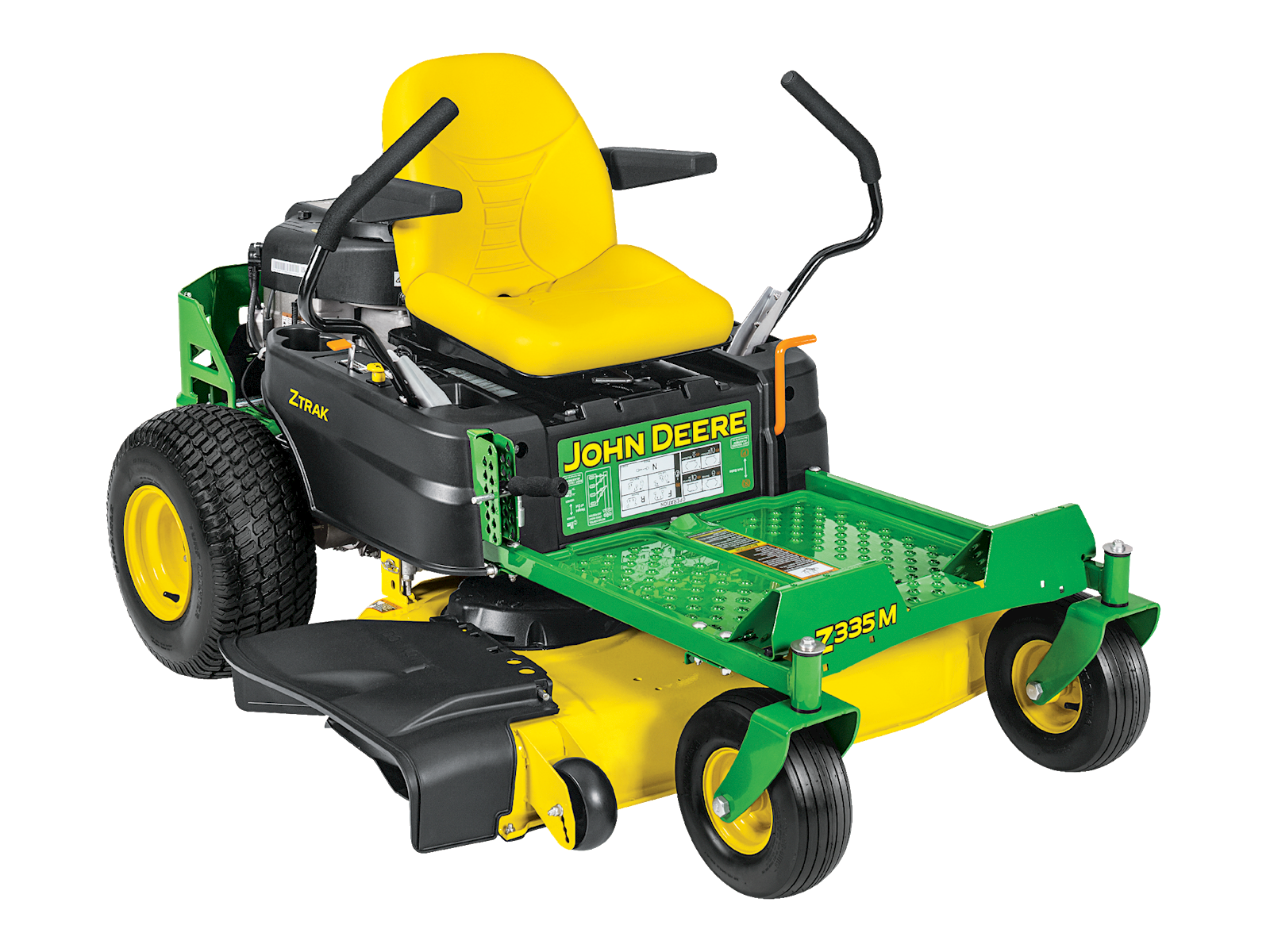 residential zero-turn mower