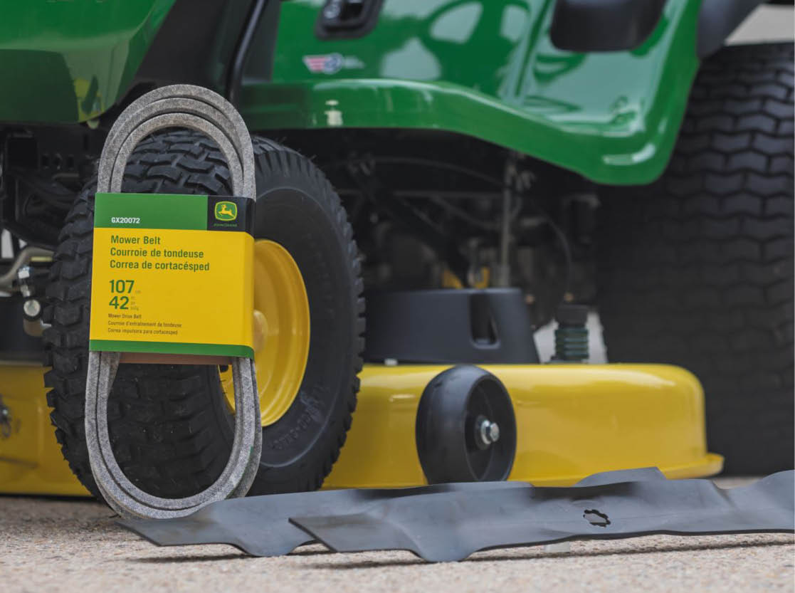 15% Off Mower Blades & Belts