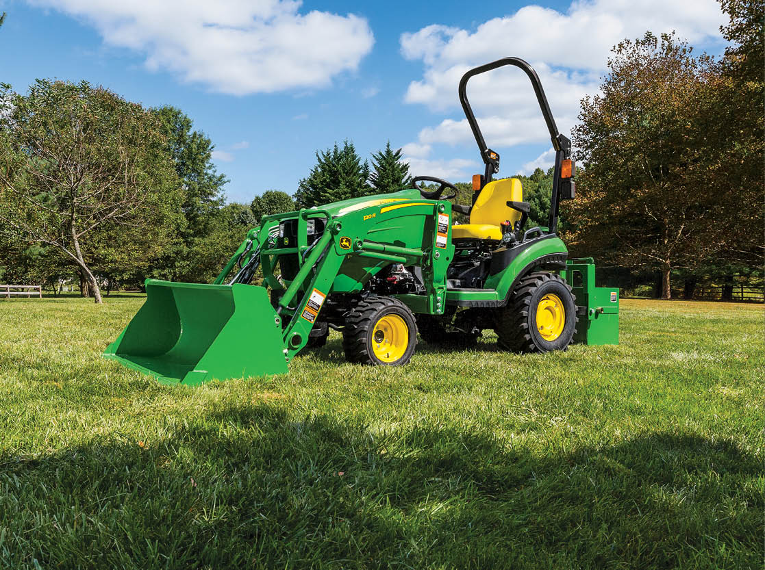 20% Off Select Tractor Attachments