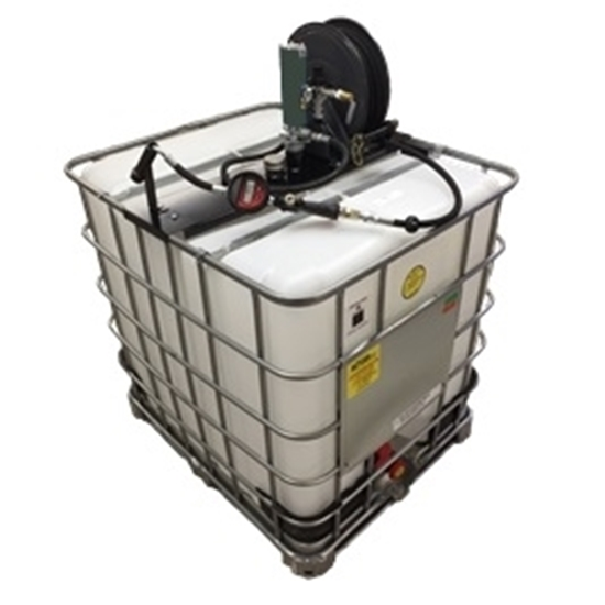 275 Gal Tote W/Air Pump
